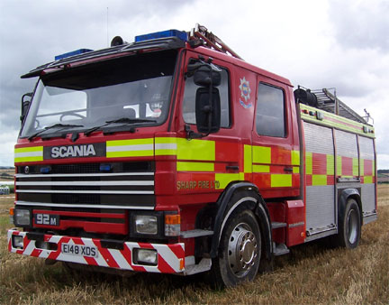 Fire Engine. Risk Assessment Solutions, Stafford. Health & Safety Consultants and Fire Risk Assessors